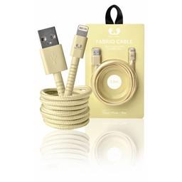 Fresh 'n Rebel Data en Oplaadkabel Apple Lightning - USB A Male 1.50 m Buttercup
