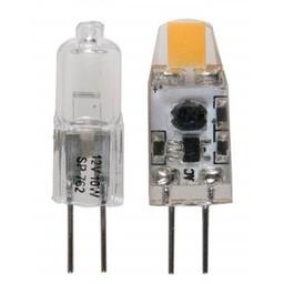 Huismerk G4 LED STEEK 10W=1.2W 2800K 100LM