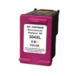 Huismerk Inkt cartridge voor Hp 304Xl kleur met niveau-indicator