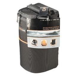 Camlink Camera Lens Beschermtas 110 x 210 x 100 mm Zwart / Oranje