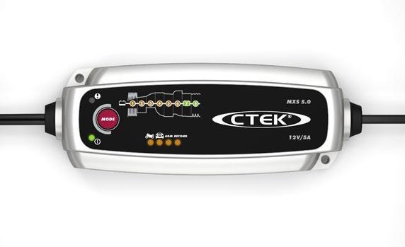 CTEK Hoogfrequentlader MXS 5.0 12V 5A Automatische acculader 12 V