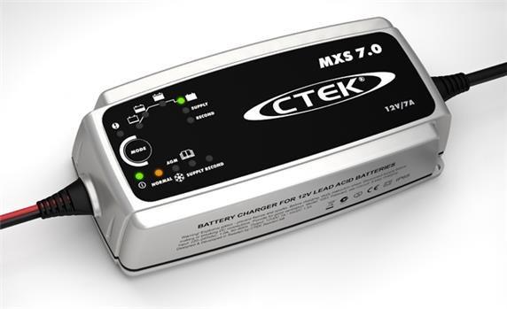 Ctek Mxs 7 0 Krachtig Opladen Voor Iets Grotere Accu S Acculaders Nl