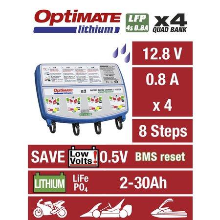 Tecmate Optimate Lithium 0,8A x4