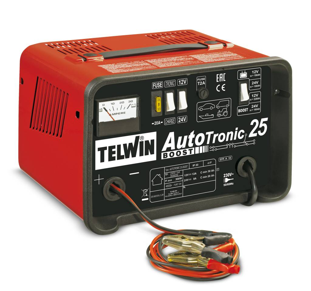 Telwin Autotronic 25 Boost Acculaders Nl