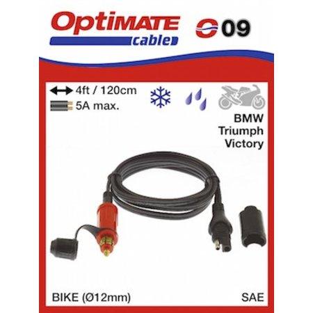 Tecmate Optimate verlengkabel O9 120cm - SAE naar CAN-bus 5A max