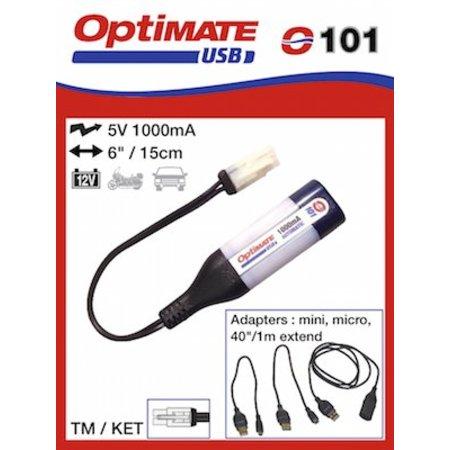 Tecmate Optimate USB oplader O101 voor TM
