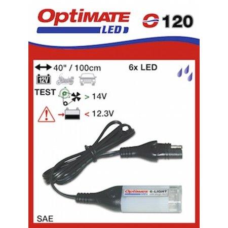 Tecmate Optimate laadsysteem tester O120