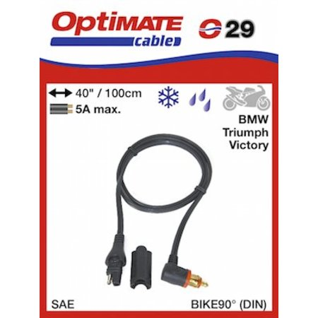 Tecmate Optimate O29 Adapter kabel SAE naar CAN-bus DIN