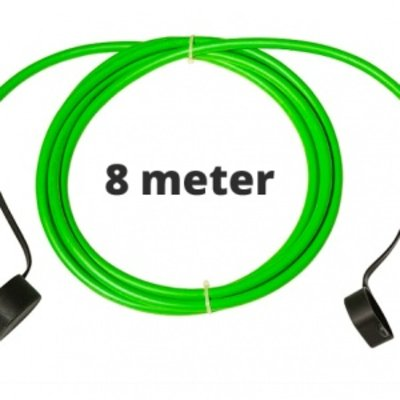 Ratio Laadkabel type 2 - 3  fase 16A - 8 meter