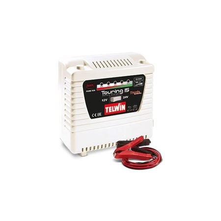 Telwin acculader Touring 15 Tronic 230V 12V / 24V laden en onderhouden