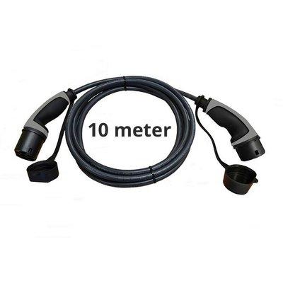 Ratio Laadkabel type 2 - 3 fase 16A - 10 meter