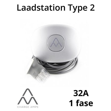 Charge Amps Halo Laadstation type 2, 1 fase 32A