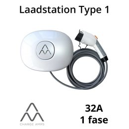 Charge Amps Halo Laadstation type 1, 1 fase 32A