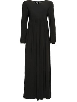 Black High Waist Maxi Dress