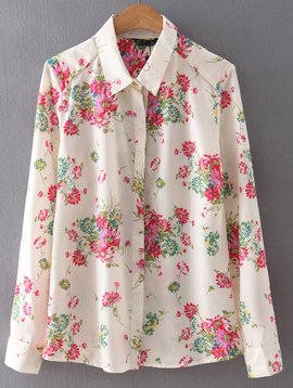 SALE Floral Blouse