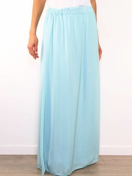 SALE Aqua Summer Maxi Skirt