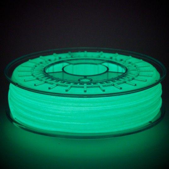 ColorFabb 1,75 mm PLA filamento fosforescente, Glowfill