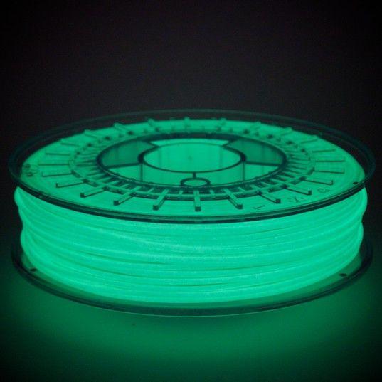 ColorFabb 2.85 mm PLA filament, Glowfill