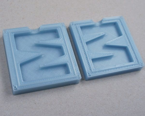 Lay Filaments 2,85 mm MoldLay filamento simile a cera, Blu
