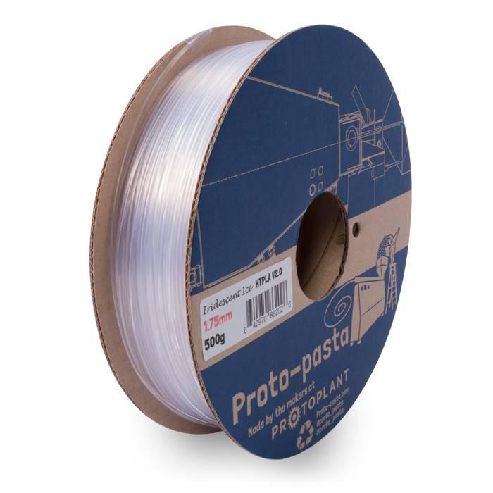Proto-pasta 1.75 mm HTPLA filament, Iridescent Ice