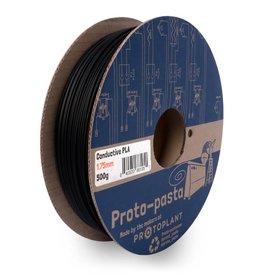 Proto-pasta 2,85 mm PLA filamento conduttivo, Nero