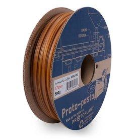 Proto-pasta 1,75 mm HTPLA Caffè aromatico filamento, Bronzo