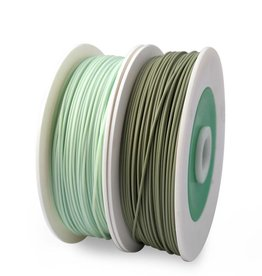 EUMAKERS 1.75 mm Bio Recycled PLA filament, Green