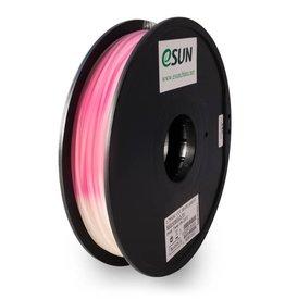 Esun 1,75 mm PLA cambia colore filamento, Naturale-Magenta
