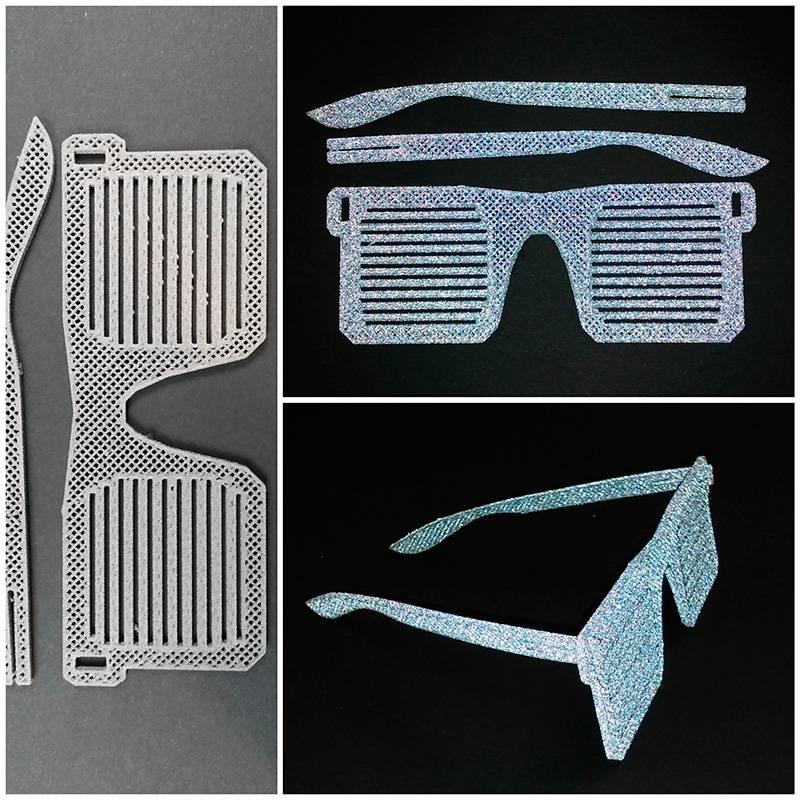 Lay Filaments 1,75 mm Reflect-O-Lay filamento catarifrangente, Grigio