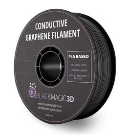 Black Magic 3D 1.75 mm Conductive Graphene filament, Black