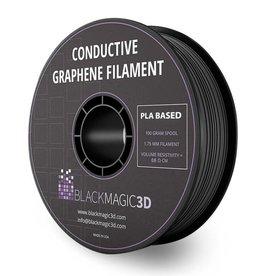 Black Magic 3D 1,75 mm Grafene filamento conduttivo, Nero