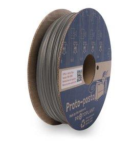 Proto-pasta 1.75 mm Matte Fiber HTPLA filament, Grey