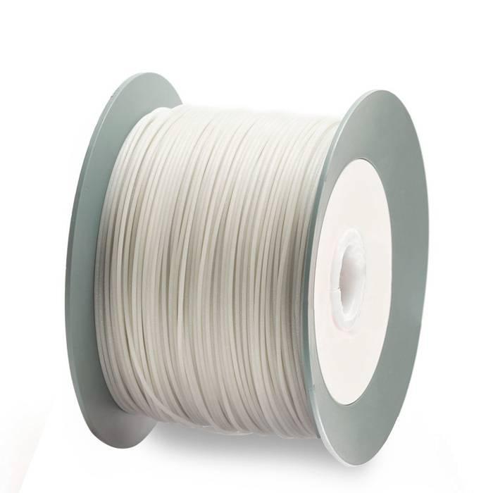 EUMAKERS 2,85 mm PLA filamento, Glitter bianco