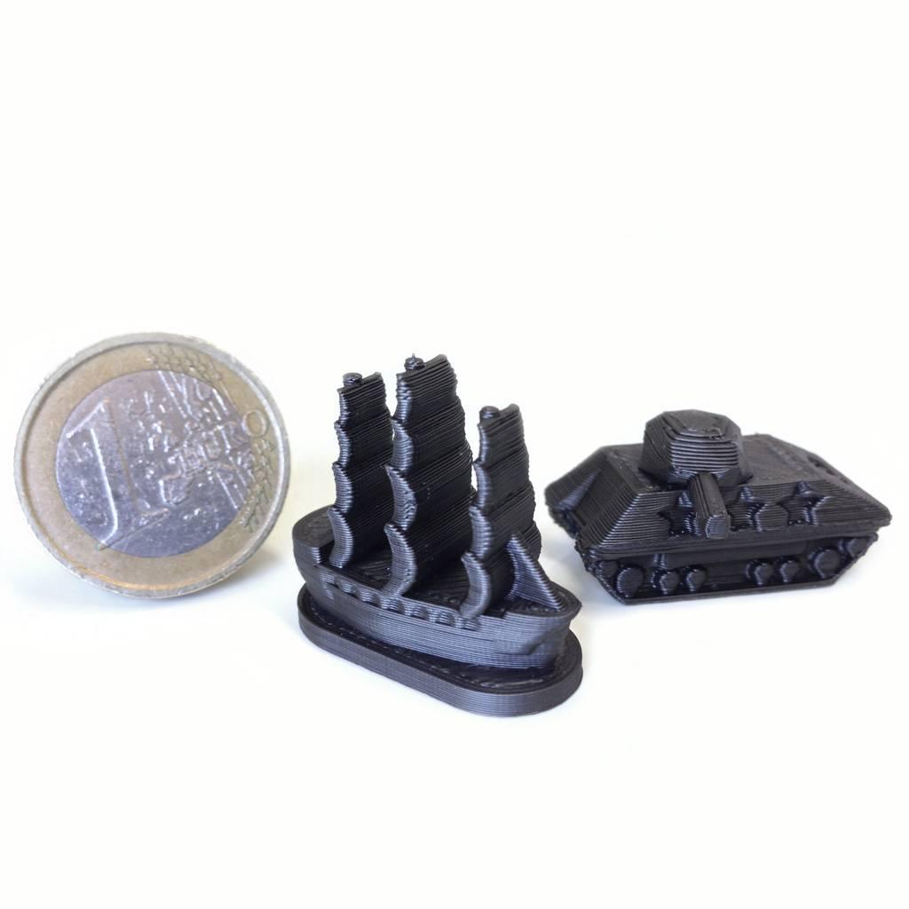 FiloAlfa 2,85 mm Grafylon 3D® filamento PLA al grafene, Nero