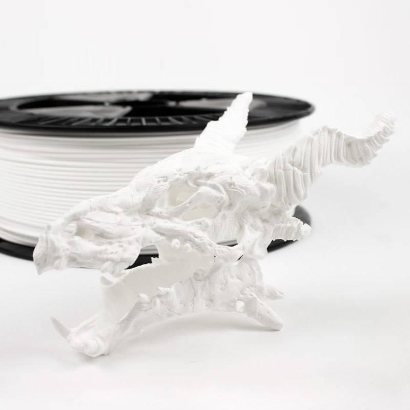 ColorFabb 1,75 mm PLA economy filamento, Bianco - Bobina XL