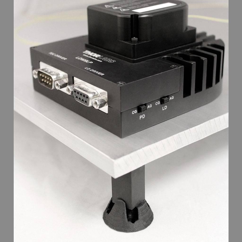 Black Magic 3D 1.75 mm G6-Impact HIPS Carbon Fiber Graphene filament, Black