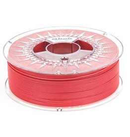 Extrudr 1.75 mm PLA NX2 filament Matt finish, Hellfire Red