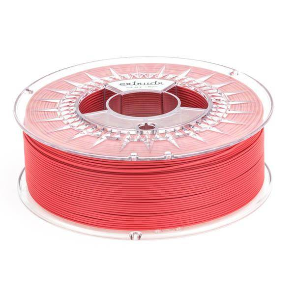 Extrudr 1.75 mm PLA NX2 filament Matt finish, Hellfire Red