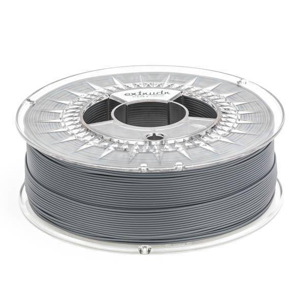 Extrudr 1.75 mm PLA NX2 filament Matt finish, Anthracite
