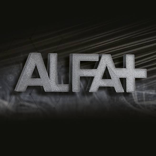 FiloAlfa 1.75 mm ALFAplus filament, Black