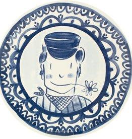 Afbeeldingsresultaat voor blond amsterdam delfts blond dinerbord