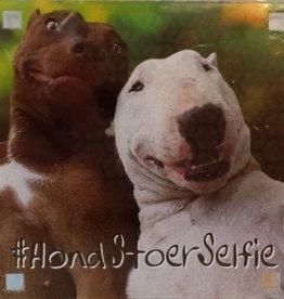 History & Heraldry Sentiment Magneet #Hond Stoer Selfie