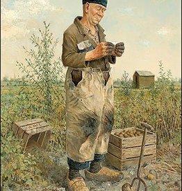 Landbouwer - Wenskaart Marius van Dokkum