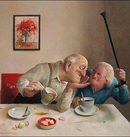 Liefde  van één kant - Wenskaart Marius van Dokkum