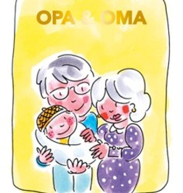 Blond Amsterdam Opa & Oma Tea card kleinkind - Blond Amsterdam