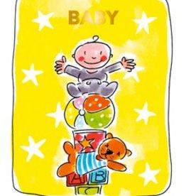 Blond Amsterdam Baby Tea card - Blond Amsterdam