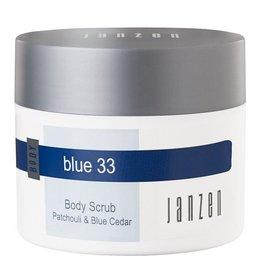 JANZEN Body Scrub Blue 33 - JANZEN