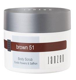 JANZEN Body Scrub Brown 51 - JANZEN