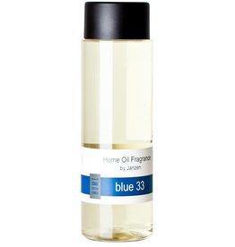JANZEN Navulling Diffuser Blue 33 (incl. stokjes) - JANZEN