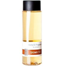 JANZEN Navulling Fragrance Sticks Brown 51 (incl. stokjes) - JANZEN